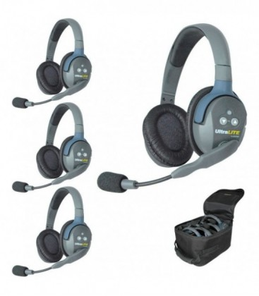 Eartec UL4D -- UltraLITE 4 person system