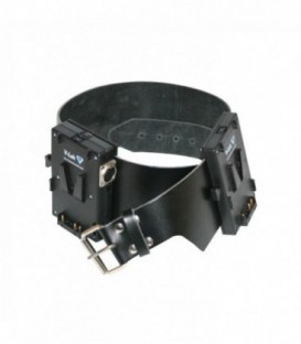 Hawkwoods VL-B5 - V-Lok Battery Belt - Dual Parallel XLR 4-pin