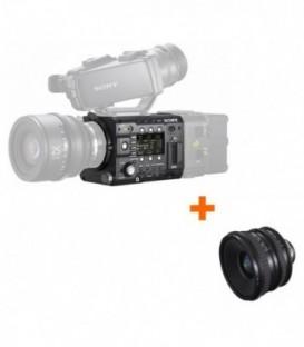 Sony PMW-F5/WIDELENS - F5 Full HD 4K Camera + Wide Lens kit