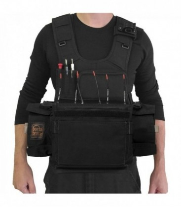 Portabrace ATV-788 - Audio Tactical Vest - Sound Devices 788, Black