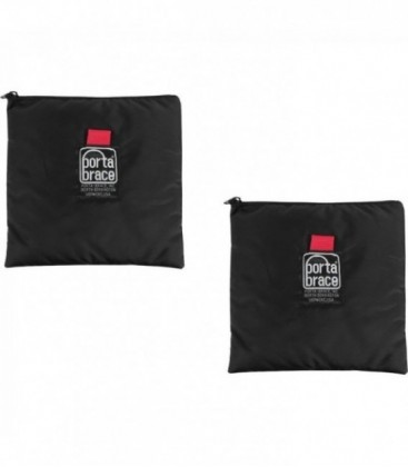 Portabrace CS-B92 - Cam-Corder Stuff Sack - Set of 2, Black