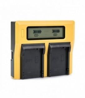 Patona PA-1809 - Dual LCD Charger for LP-E6
