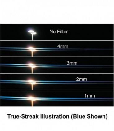 Schneider 68-500277 - 77 mm Screw-In Filters True-Streak Blue 2mm