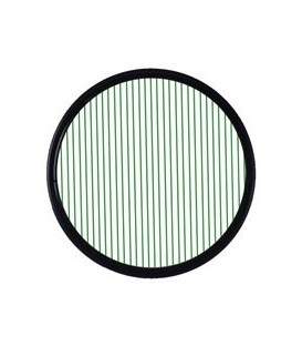 Schneider 68-502277 - 77 mm Screw-In Filters True-Streak Green 2mm