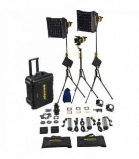 Dedolight KLT7-3-D-E - Hard case Kit with 3x DLED7 daylight LED lights