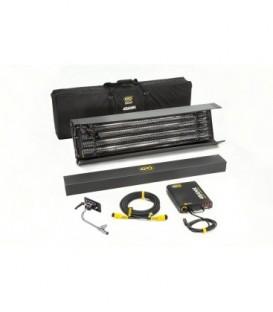 Kinoflo KIT-484B-230U - 4ft 4Bank Kit (1-Unit) w/ Soft Case, Univ 230U