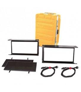 Kinoflo KIT-DL22X-230U - Diva-Lite LED 20 DMX Kit, Univ 230U (2-Unit) w/ Flight Case