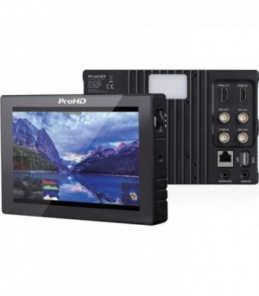 JVC DT-X73F - 7 inch Portable LCD Monitor