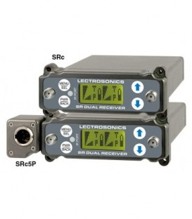 Lectrosonics SRc5P - Wideband Dual Chanel Slot-MNT Receiver