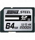 Hoodman HS64GBSD2 - STEEL 64GB SDXC UHS II