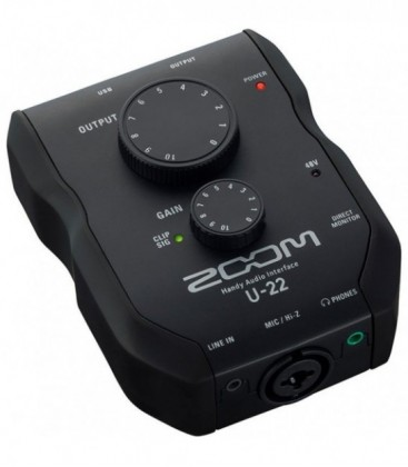 Zoom U-22 - 1x1 Handy Audio Interface
