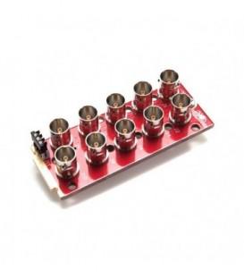 Decimator DR1-10B1G - MC-DMON-9S Rear Module: openGear 2/3 Rear 10x BNC and GPI
