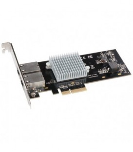 Sonnet G10E-2X-E3 - 2-Port Presto 10GbE 10GBase-T Ethernet PCI Express 3.0 Card