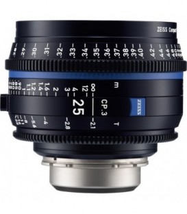 Zeiss 2181-400 - CP.3 - 2.1/25 - metric - F MOUNT