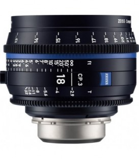 Zeiss 2186-836 - CP.3 - 2.9/18 - metric - F MOUNT