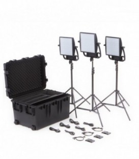 Litepanels 935-3202 - Astra 6X Traveler Trio V-Mount Kit