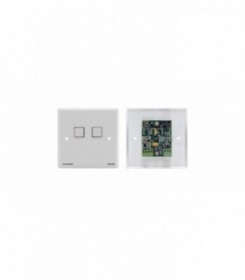 Kramer RC-2/BE/DE(W) - 2-Button Contact Closure Switch - RS-232 Controller - white