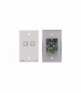 Kramer RC-2C(W) - Wall Plate - RS-232 & IR Controller - White