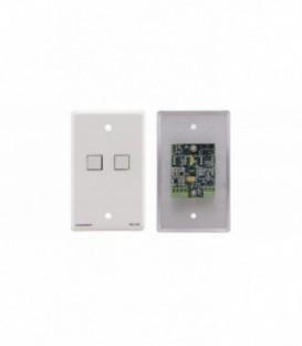 Kramer RC-2C/EU(W)-80 - Wall Plate - RS-232 & IR Controller - White