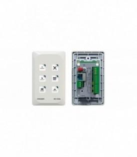 Kramer RC-43SL - 6-button Touch-Sensitive Ethernet Control Keypad