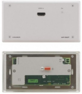 Kramer WP-580T/EU(W)-80 - Active Wall Plate - HDMI - White