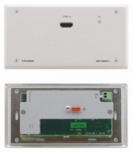Kramer WP-580TXR/EU(W)-80 - Active Wall Plate - HDMI - White