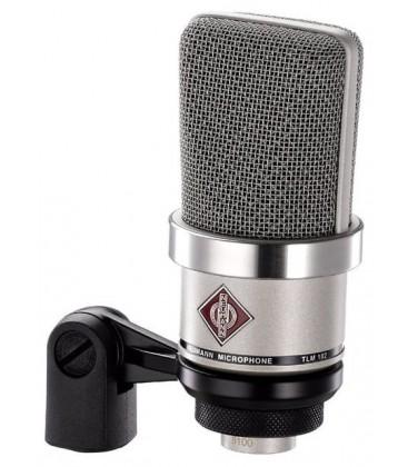 Neumann TLM 102 Studio Set - Condenser Microphone Studio Set, Nickel