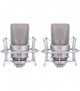 Neumann TLM 103 stereo set - Condenser Microphone Stereo Set, Nickel