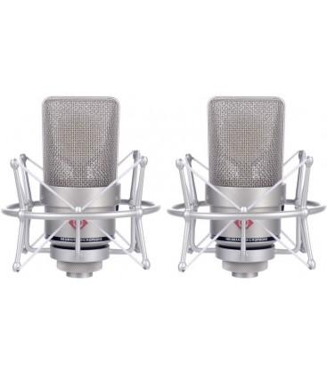 Neumann TLM 103 stereo set - Condenser Microphone Stereo Set, Nickel