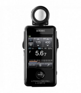 Sekonic L-478D - LiteMaster Pro light meter (without Radio Transmitter)