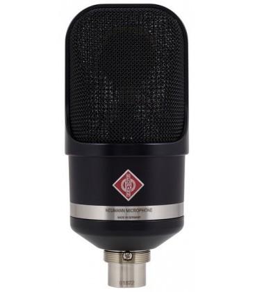Neumann TLM 107 bk - Multi-Pattern Large Diaphragm Condenser Microphone, Black
