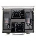 Neumann TLM 170 R mt stereo set - Multi-Pattern Studio Condenser Mic Stereo Set, Black