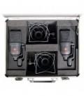 Neumann TLM 170 R stereo set - Multi-Pattern Studio Condenser Mic Stereo Set, Nickel