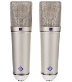 Neumann U 87 Ai Stereo set - Multi-Pattern Condenser Microphone, Nickel Stereo Set
