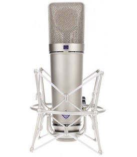 Neumann U 87 Ai Studio Set - Multi-Pattern Condenser Microphone, Nickel Studio Set
