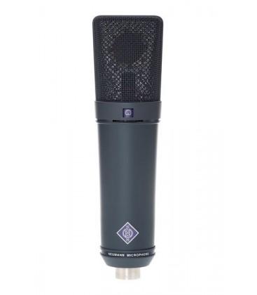 Neumann U 89 i mt - Large Diaphragm Condenser Microphone, Black