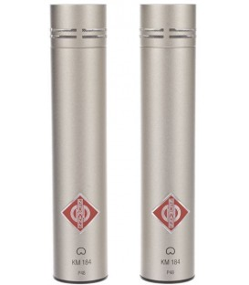Neumann KM 184 Stereo Set - Cardioid Condenser  Microphone, Nickel Stereo Set