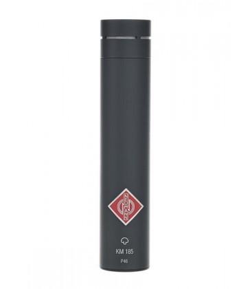 Neumann KM 185 mt - Hypercardioid Microphone, Black