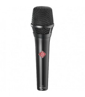 Neumann KMS 104 Plus bk - Handheld Stage Microphone (Black)