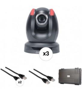 Datavideo 2900-5030 - GO-3CAM-EU - 3 Camera Portable Production Solution