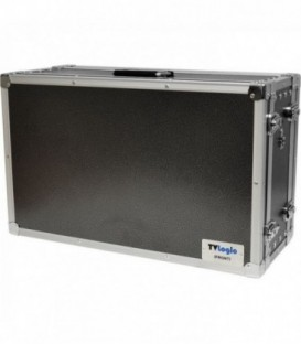 TVLogic CC-232 - Dual Door Aluminum Carrying Case
