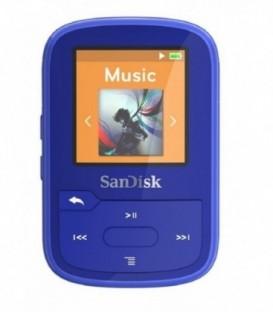 Sandisk SDMX28-016G-G46B - SanDisk Clip Sport Plus 16GB Blue