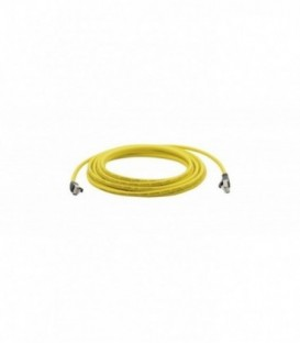 Kramer PC6A-LS503-10M - CAT 6A S/FTP LAN Patch lead LSHF (In YELLOW Jacket) - 10m