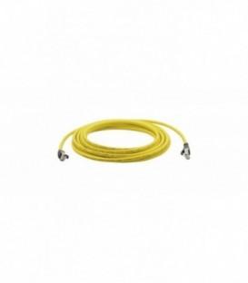 Kramer PC6A-LS503-10M - CAT 6A S/FTP LAN Patch lead LSHF (In YELLOW Jacket) - 10m