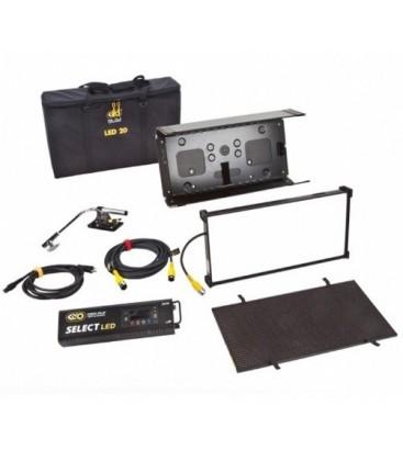 Kinoflo KIT-F21BU - FreeStyle 21 LED DMX Kit w/ Soft Case, Univ 230U