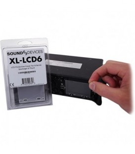 Sound-Devices XL-LCD6 - Protective, clear LCD cover