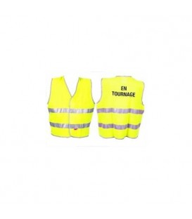 "Cineboutique A-CINEBOUTGILET - Fluo mesh vest ""Cineboutique"""