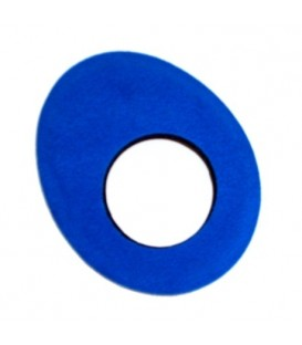 Cineboutique A-OEBSOVLBL - Blue Star Eyepiece - Oval Large Blue Microfiber (For Sony Hd, Betacam, Canon)