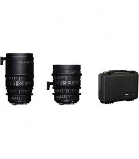 Sigma WMQ966 - 18-35mm + 50-100mm T2,0 Kit (Canon EF)