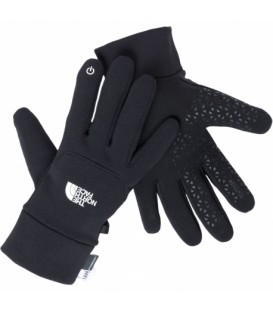"Cineboutique A-TNF02 - The North Face ""Powerstrech Etip"" Black Gloves"